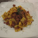 Papardelle with Veal & Rabbit