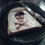 Breakfast toast!