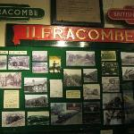 old Ilfracombe station signs