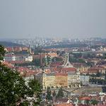 view of Prague from Petrin