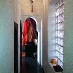 Couloir allant a la salle de repos