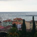 panorama di Diano Marina dal balcone