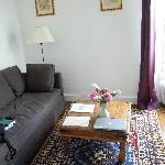 Le petit salon de la chambre