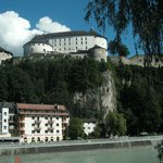Kufstein fortress, from the River Inn