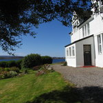 Kirkhill House looking out over Loch Ewe
