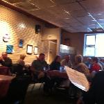 busy Saturday at Sizzlin' Cafe