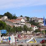 Hotel view from Aqua sport centre