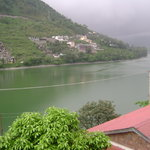 view of bhimtal lake from neelesh inn