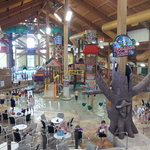 One of the awesome indoor water parks