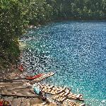 Laguna Pojoj (swim here)