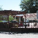 Hot tub Circle R Motel
