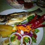 amazong fish and good service