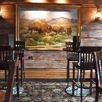 View of interior area of Buffalo Bar