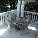 Part of the lovely verandah