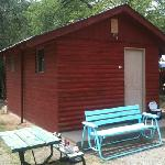 """""""large"""" cabin at Starlite Campground"""