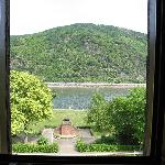 View from room 16 to the river
