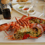 2000 crown ($118USD) lobster dish!