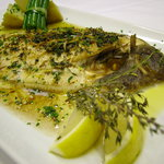 Dover Sole with Garden Herbs and Olive Oil Vinaigrette