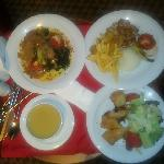 food at the hotel