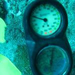 40 pies de profundidad. Arrecife Palancar. Cozumel. Mexico