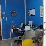 """3.-Barra Da Lagoa- """"Sol e Lua"""": oficina administrativa"""