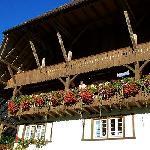 Flower laden balconies...