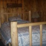 inside conestoga cabin