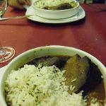 carne con arroz