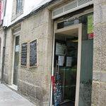 fachada entrada restaurante