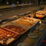 Restauranten hadde et stort utvalg av retter, noe for enhver smak