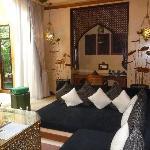 Downstairs Living Area of theBaray Villa