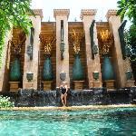 Pool Area Baray Villa's