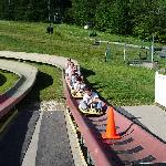 First time on the alpine slide