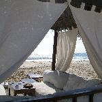 Gazebo sul mare (extra a 30€ al giorno)