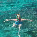 Snorkelling at the Blue Lagoon