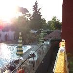 Pool, balcony view