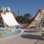 side winder at waterpark