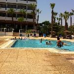 La piscine pour enfants.