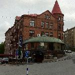 Hotellets utsida
