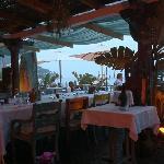 the restaurant at sunset