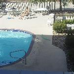 My Family at the pool. View from my room