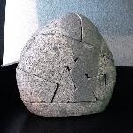 Rock Puzzle Sculpture