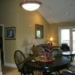 Unit #509- dining area & living room