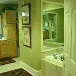 Unit #509- 2nd Master Bath (both have jacuzzi tubs & large tile showers).