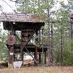Yreka - Greenhorn Park, old logging equipment