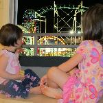 Watching the roller coster before bed