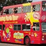 One of the world famous open top double deckers!