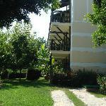 annexe à l'hôtel situé dans le parc