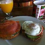 Desayuno en Lilioi Inn