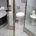 Badewanne-Bidet-WC
